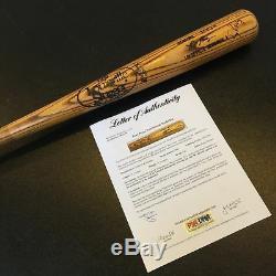 1980 Tony Perez Signed Game Used Bat PSA DNA COA Cincinatti Reds