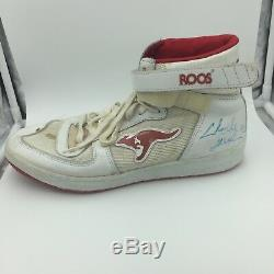 1980's Clyde Drexler Signed Game Used Sneakers Shoes Pair With PSA DNA COA