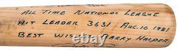 1981 Pete Rose Game Used & Signed Mizuno Bat (PSA/DNA GU 10)