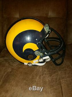 1984 Los Angeles Rams Jack Youngblood Game Worn-game Used Autographed NFL Helmet