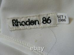1986 Rick Rhoden All-star Game Used/worn Jersey Pittsburg Pirates Signed Psa