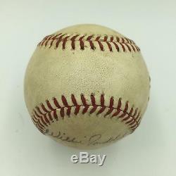1987 All Star Game Don Mattingly Rickey Henderson Signed Game Used Baseball JSA