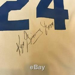 1991 Ken Griffey Jr. Signed Game Used Seattle Mariners Jersey With JSA COA