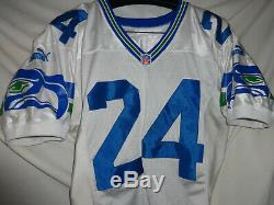 1999 Seattle Seahawks SHAWN SPRINGS Game Used Worn Signed NFL Football Jersey