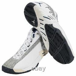 2001 Reggie Miller Game Used & Signed Jordan Indiana Pacers Sneakers