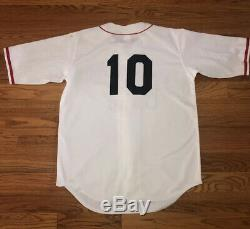 2001 Rey Ordonez Ny Mets Game Used Worn Jersey Cubans Negro League Rare Signed