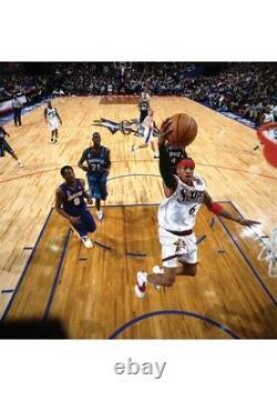 2002 Allen Iverson Game Used & Signed Julius Erving Dr. J All Star Game Jersey