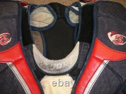 2009 Henrik Lundqvist Signed Game Used NY RANGERS Goalie Chest Protector STEINER