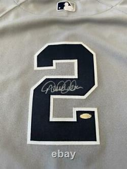 2011 Derek Jeter NY Yankees Game Used & Signed Baseball Jersey Steiner MLB Cert