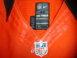 2014 Mohamed Sanu Cincinnati Bengals Autographed Game Used Jersey #12