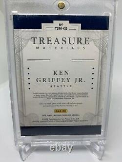 2016 National Treasures Ken Griffey Jr. Game Used Patch Auto 1/1