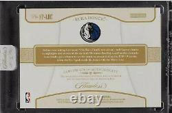 2018-19 Panini Flawless LUKA DONCIC GAMEUSED Rookie Patch Autograph /15 RPA Auto