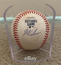 2018 Mlb All Star Futures Game Used Ball Fernando Tatis Jr Signed Mitch Keller