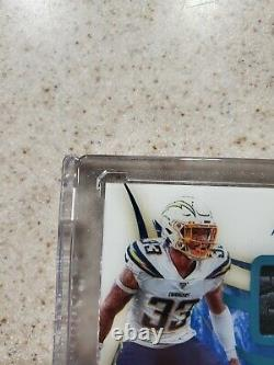 2020 Immaculate Derwin James Jr. 1/1 Game Used Chargers Autograph Triple Patch