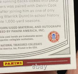 2020 National Treasures Cam Akers #122 Rookie Bowl Game Patch Auto RPA 9/10