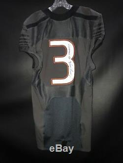 #3 Stacy Coley Miami Hurricanes Signed Game Used Smoke Nike Jersey Jsa Loa