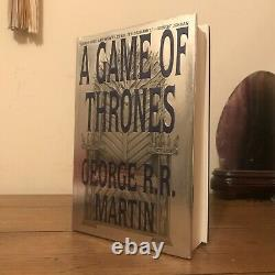 A Game of Thrones 1, George R. R. Martin (1996), 1st/1st, SIGNED