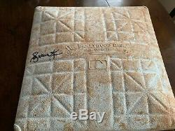 Andruw Jones Autographed Game Used 2004 NLDS Base Atlanta Braves MLB PROOF
