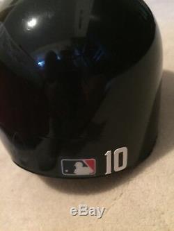 Atlanta Braves Chipper Jones Autographed Game Used Batting Helmet