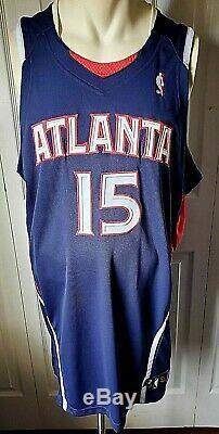 Atlanta Hawks AL HORFORD 2008-2009 signed game used worn basketball jersey