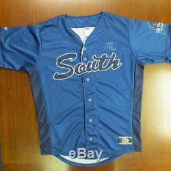 Atlanta braves Ozhaino Albies signed Game-Used sal all-star jersey