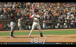 BUSTER POSEY SF GIANTS Rare GAME USED 2015 MOTHERS DAY Uncracked BAT Signed