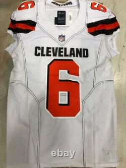 Baker Mayfield Autographed Game Used Rookie Jersey