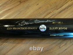 Barry Bonds Game Used 2001 Autograph Sam Bat Psa/dna Certified Authentic Signed