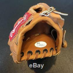 Bobby Bonilla Signed Game Used Rawlings Baseball Glove With JSA COA