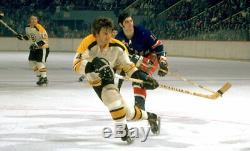Bobby Orr original game used team signed 1971-72 Victoriaville stick Bruins