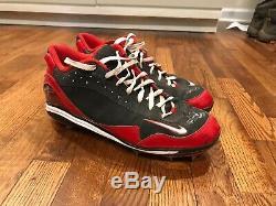 Brandon Phillips SIGNED Nike Swingman Game Used Cleats PSA DNA Cincinnati Reds