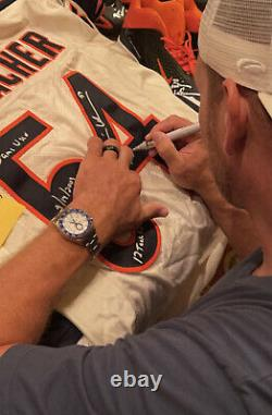 Brian Urlacher Signed Game Used 9/14/03 Chicago Bears Jersey 12 Tackles Beckett