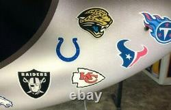 Bud Light Beer NFL Teams Football 4ft Neon Light Up Bar Sign Game Room