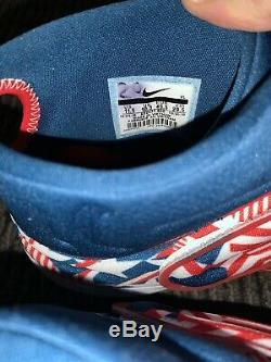 Buster Posey San Francisco Giants Game Used Cleats July 4th Signed MLB Auth
