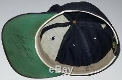 CARL YASTRZEMSKI Signed Game Used Worn 1970's Roman Pro Cap Boston Red Sox HOF
