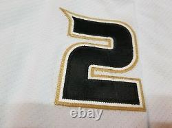 CHRIS PRONGER 06'07 Cup Season Signed Anaheim Ducks Game Worn Used Jersey w COA