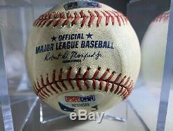 CLAYTON KERSHAW SIGNED Game Used Baseball Dodgers MLB PSA Authentication HOF