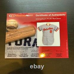 Cal Ripken Jr 1981 Rookie Game Used Jersey Signed Earliest One Known PSA DNA COA