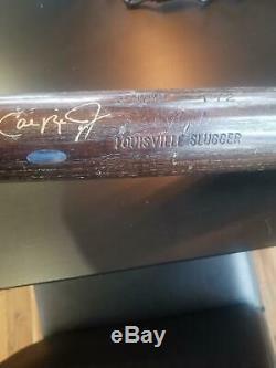 Cal Ripken Jr Game Used Bat, old school 1983! SIGNED and PSA/DNA Grade 9