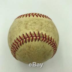 Carl Yastrzemski Signed Vintage Game Used American League Baseball With JSA COA