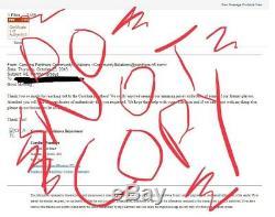 Carolina Panthers Thomas Davis Game Used Worn Jersey COA Signed Captain Patch TD