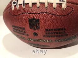 Chad Pennington Autographed Miami Dolphins Game Used Football NFL Marshall