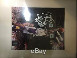 Chris Webber NBA Game Used / Gameworn Shoes, Photo-Signed/Autographed Multiple X