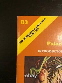 D&D ORANGE B3 (Signed) + UNPUBLISHED EXPANSION! Palace of the silver princess