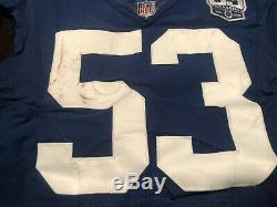 Darius Leonard D-roy Auto Game Used Worn Colts Jersey Signed Coa Photomatched