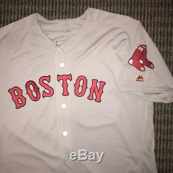 David Ortiz Boston Red Sox Game Used Jersey 2016 Signed, MLB Auth, 3-4, RBI