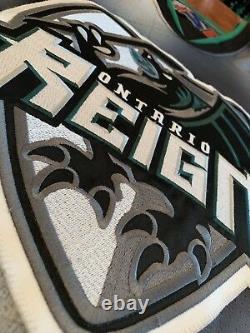 Derek Couture Game Worn Autographed Jersey ECHL AHL Captian Authentic