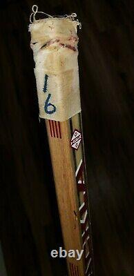 Detroit Red Wings Vladimir Konstantinov Game Used Signed Rookie Hockey Stick
