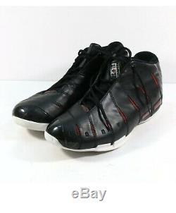 Dwayne Wade Signed 2005-06 Game Used Nba Championship Season Shoes Nba Coach Loa