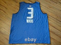 Dwyane Wade Game Used Worn 2010 All-star Practice Jersey Signed Psa/dna